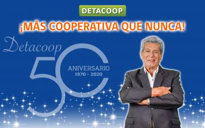 Detacoop y 50 años jugando un rol social clave